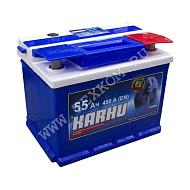 Аккумуляторная батарея KARHU 6СТ55з обр. 242х175х190 Казахстан