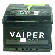 Аккумуляторная батарея VAIPER 6СТ62 обр. Россия 242х175х190 500А