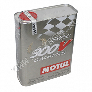 Масло моторное MOTUL 300V COMPETITION 15W50 2л синт.