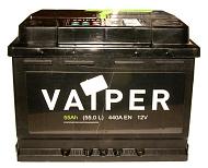 Аккумуляторная батарея VAIPER 6СТ55 обр. Россия 242х175х190 440А