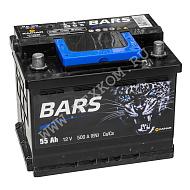 Аккумуляторная батарея BARS 6СТ55 прям. 242х175х190 Казахстан