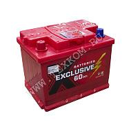 Аккумуляторная батарея Exclusive 6СТ60 прям 242х175х190 Казахстан (ETN-560 127 050)