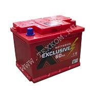Аккумуляторная батарея Exclusive 6СТ60 обр 242х175х190 Казахстан (ETN-560 408 050)