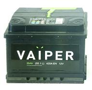 Аккумуляторная батарея VAIPER 6СТ55 прям. Россия 242х175х190 440А