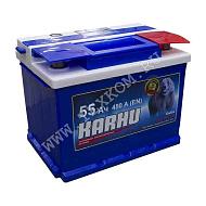 Аккумуляторная батарея KARHU 6СТ55з прям 242х175х190 Казахстан