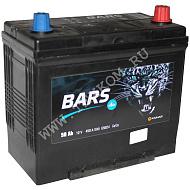 Аккумуляторная батарея BARS Asia 6СТ50 VL АПЗ обр.толст.кл. 236х129х220 Казахстан (JIS-65B24LS)