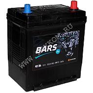 Аккумуляторная батарея BARS Asia 6СТ42 VL АПЗ обр.тн.кл. 186х129х220 Казахстан (JIS-44B19L)