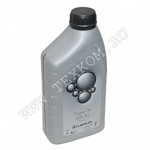 Масло моторное LEXUS ENGINE OIL SYNTHETIC 0W30 1л