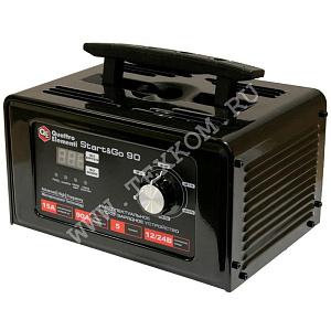 Устройство пуско-зарядное ERGUS Start&Go90 для АКБ 12/24В заряд до15А пуск 90А